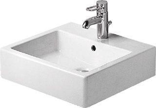 Duravit vero wastafel zonder kraangat wondergliss wit