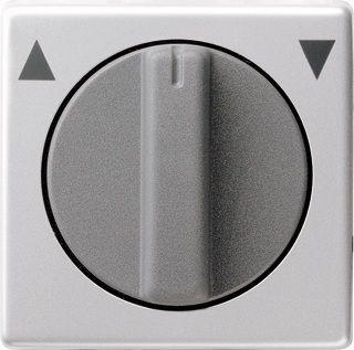 gira e22 inzetplaat knop jalouzie timer schakelaar alu 0666203. Black Bedroom Furniture Sets. Home Design Ideas