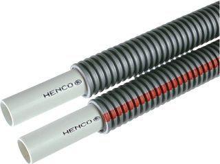 Henco Alupex combi buis 16 x 2 MM (2x) in mantelbuis Grijs Rol 50 MTR