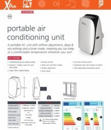 Aspen Xtra mobiele airco specificaties