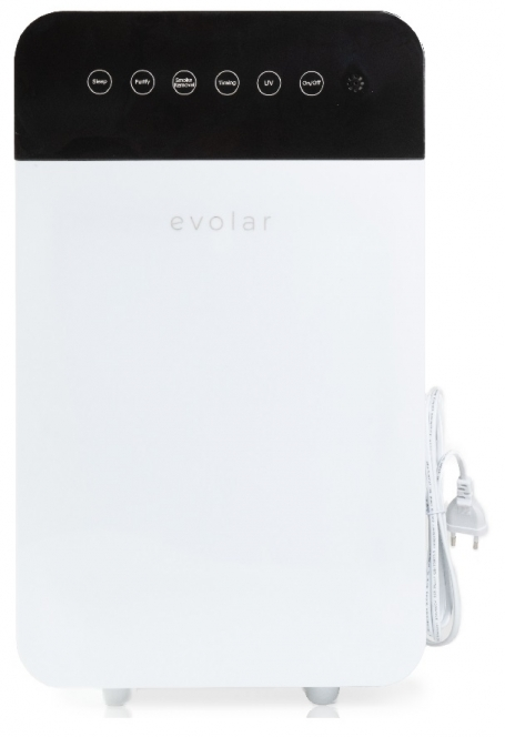 Evolar EVO-AP885 Air purifier - Hepa Filter - Actief Koolfilter - UV-filter - Ionisator
