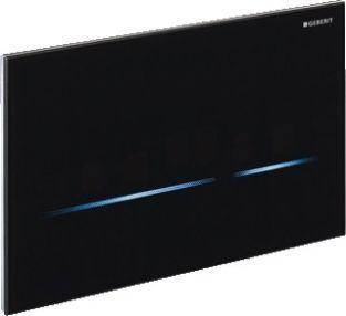 geberit sigma 80 bedieningspaneel infrarood 230v zwart. Black Bedroom Furniture Sets. Home Design Ideas
